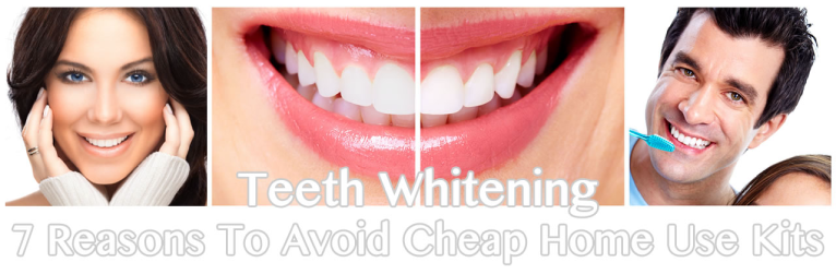 Teeth Whitening San Diego: 7 Reasons To Avoid Cheap Home Use Kits