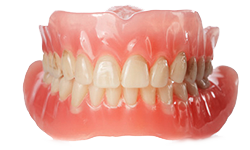 Picture of complete dentures